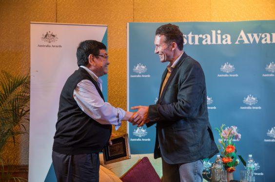 Nepal's miracle eye doctor Dr Sanduk Ruit inspires Australia Awards