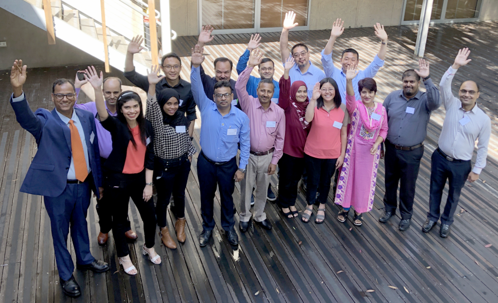Fifteen South Asian policymakers participate in the Australia Awards Short Course on Promoting Resilient and Sustainable Infrastructure Development