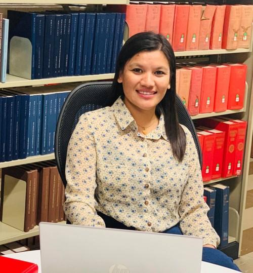 Scholar Preeti Maharjan